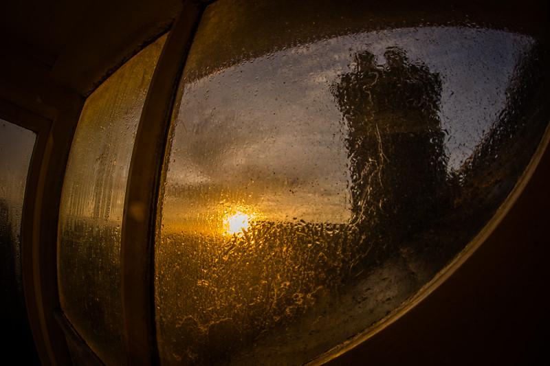 Through the attic window