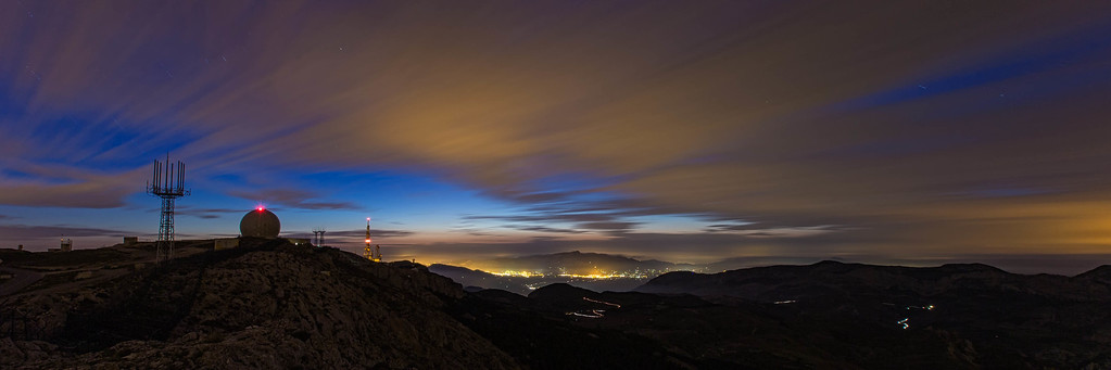 Blue Hour from Aitana