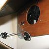 Een eenvoudige 12V fan verzorgt de afzuiging.