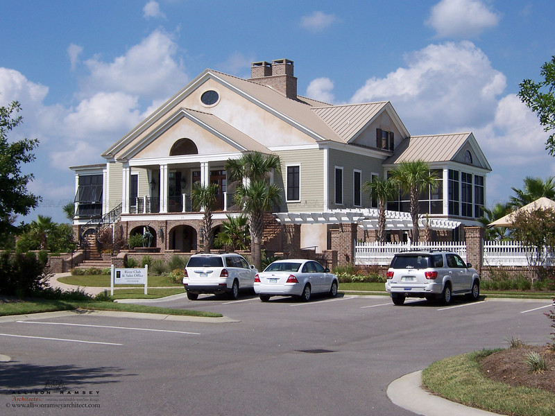The Clubhouse at Coosaw Point by Allison Ramsey Architects in Beaufort, South Carolina.
