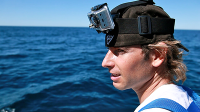 Behind the scenes of the humpback whale Crittercam deployment mission with www.hhr.org.au and Ecoforce Ops.  Gold Coast, Australia.  Photo by: Tristan Bayer