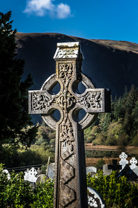 John Keane Celtic Headstone Cross