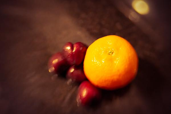 Satsuma and Cherries