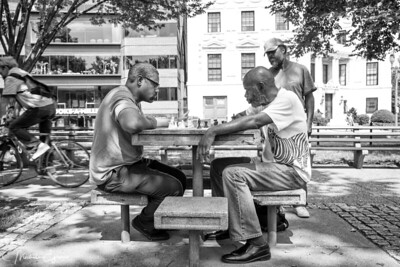 Chess Players at Dupont Circle