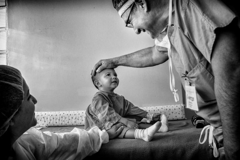 Dr. Seremetis pre-op with patient