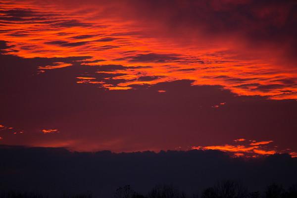 Fire Red Sky