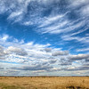 Farmland and Blue Skies