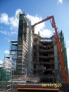 DEMOLITION OF LIFT CORE