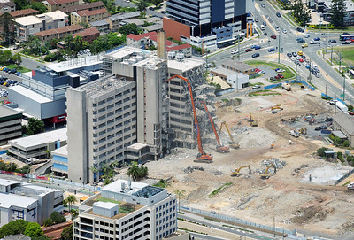 Gold Coast Hospital Demolition