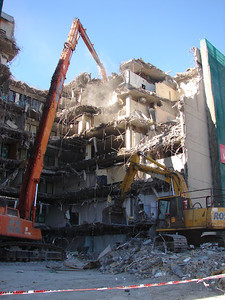 Southbank Tafe High reach Demolition
