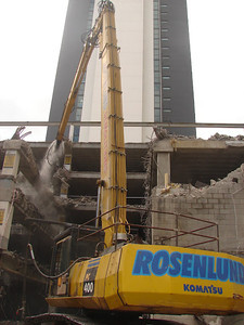 Albert St Carpark Demolition