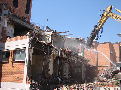 St Andrews Hospital Demolition