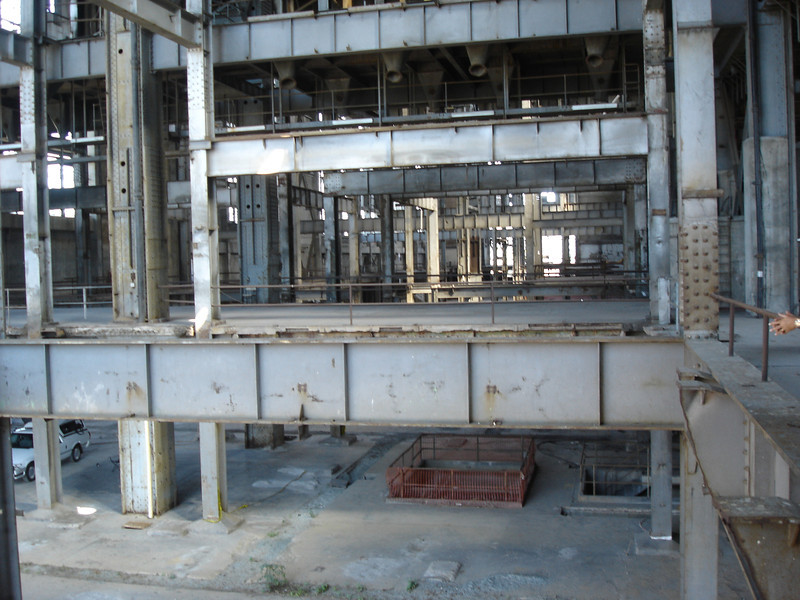 View from the Inside of the Power Station