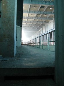 Entrance to the turbine hall