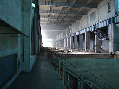 Main Turbine Hall of Tennyson Power Station