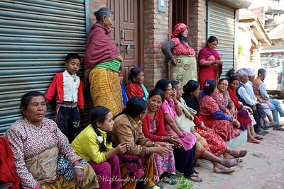 Street life, Bungamati.