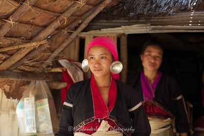 Karen Hill Tribe Women