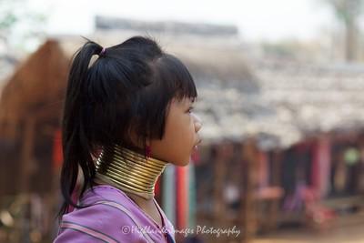 Karen Hill Tribe Girl