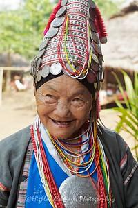 Akha Hill Tribe Woman