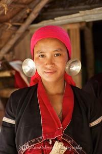 Karen Hill Tribe Woman