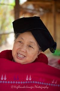 Yao Hill Tribe Woman