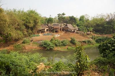 Hill Tribe Village, Chiang Rai, North Thailand