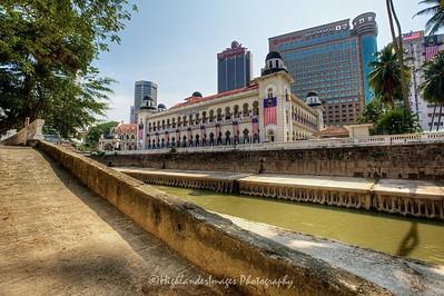 Panggung Bandarya, Gombak River, Kuala Lumpur