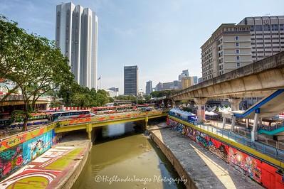 Menara Dayabumi, Klang River, Kuala Lumpur