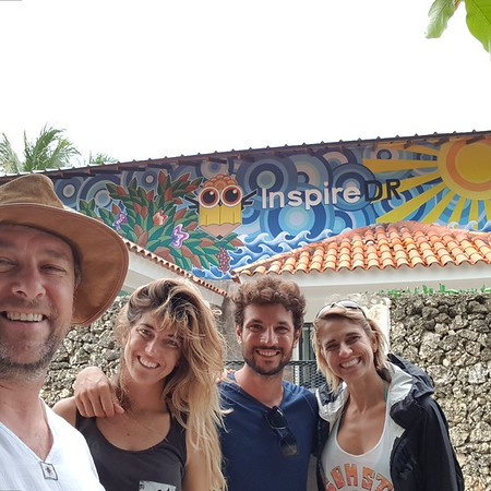 Bryan, Martina, Stefano, Christine