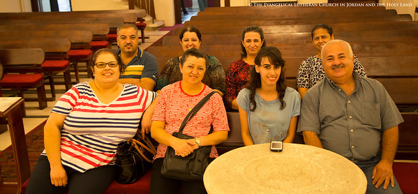 The ELCJHL's Deaf Ministry Congregation in Ramallah