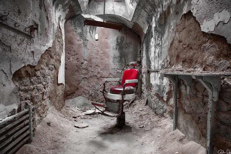 Shave and a Hair Cut 1 | Eastern State Penitentiary Historic Site, Philadelphia, PA