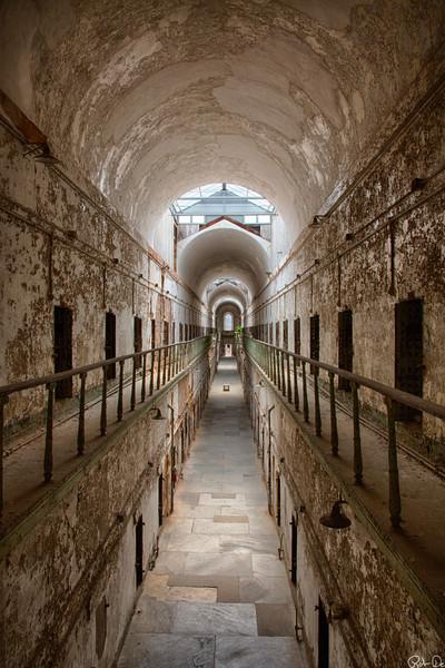 Cell Block 7 | Eastern State Penitentiary Historic Site, Philadelphia, PA