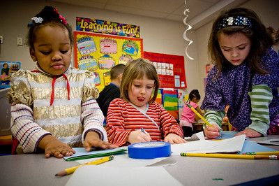 Pre-K students Seattle
