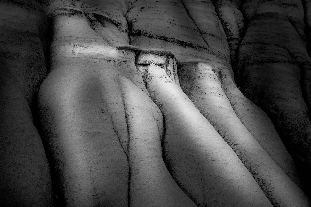 Badlands Erosional Form