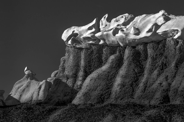 Emergence series - Evolutional Cliff Forms Bisti Badlands