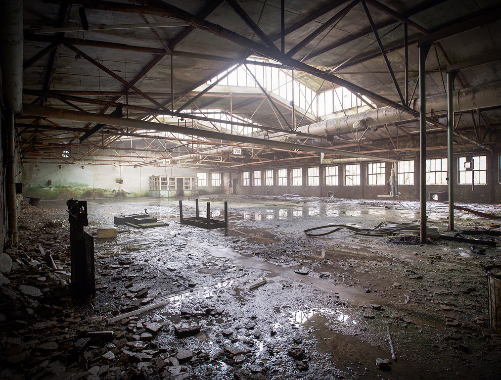 One wet factory