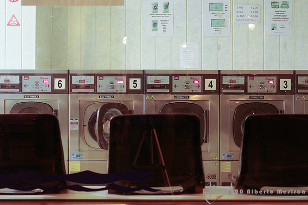 Bruxelles - laundrette