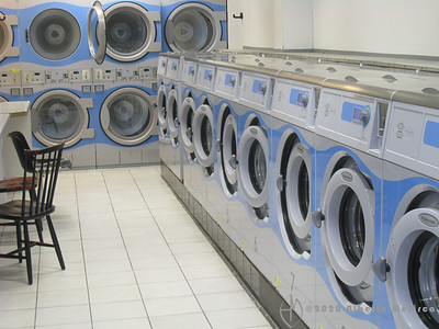 BEL - Brussels: laundrettes