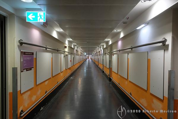 Policlinico - underground tunnels