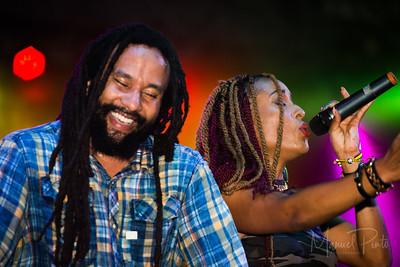 Ky-Mani MARLEY Concert Funk in the Jungle Perto Viejo de LImon Costa Rica October 10, 2015
