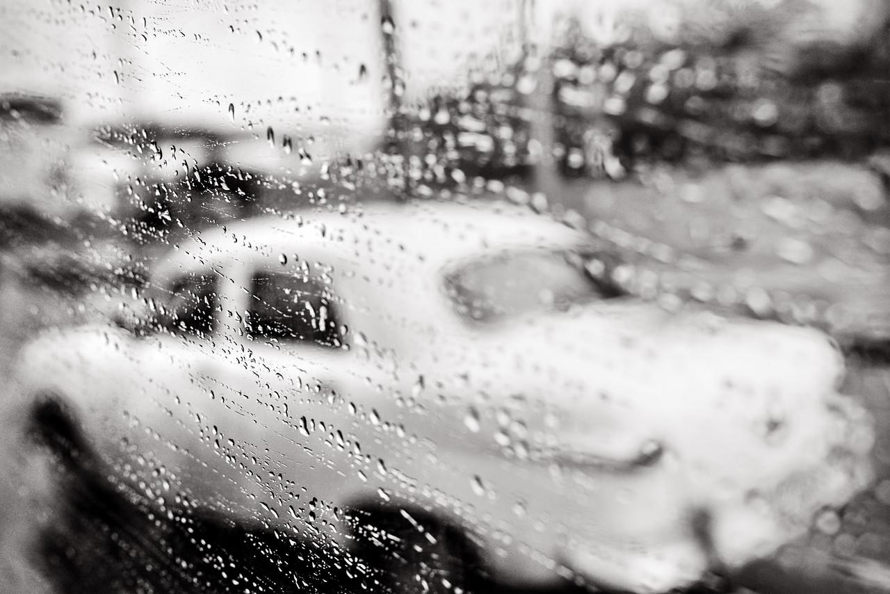 Rainy days and old cars in Havana, Cuba