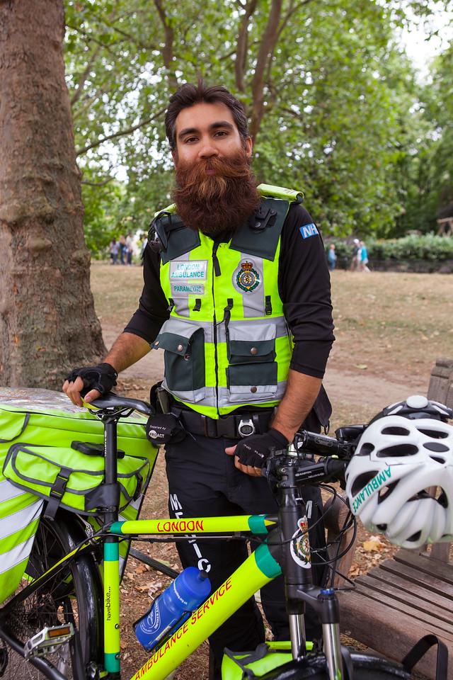 #4 The Bearded Paramedic, St James' Park, London