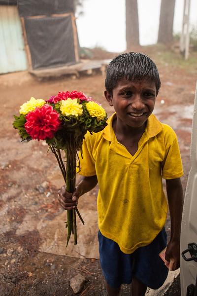 #1 Flower Seller, Nuwara Eliya