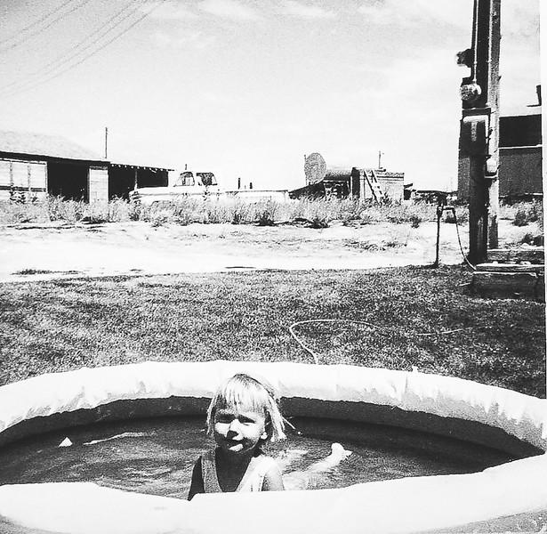 """""""Ellen in wading Pool"""""""