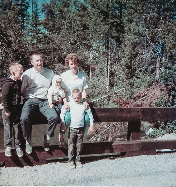 """The family at Alturas Lake"""