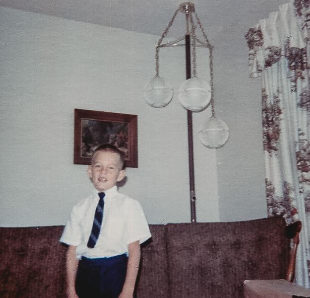 """Kirk ready for Church -age 7"""