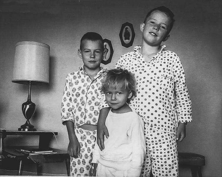 """""""Jeff, Kirk and Ellen"""" October 1967"""