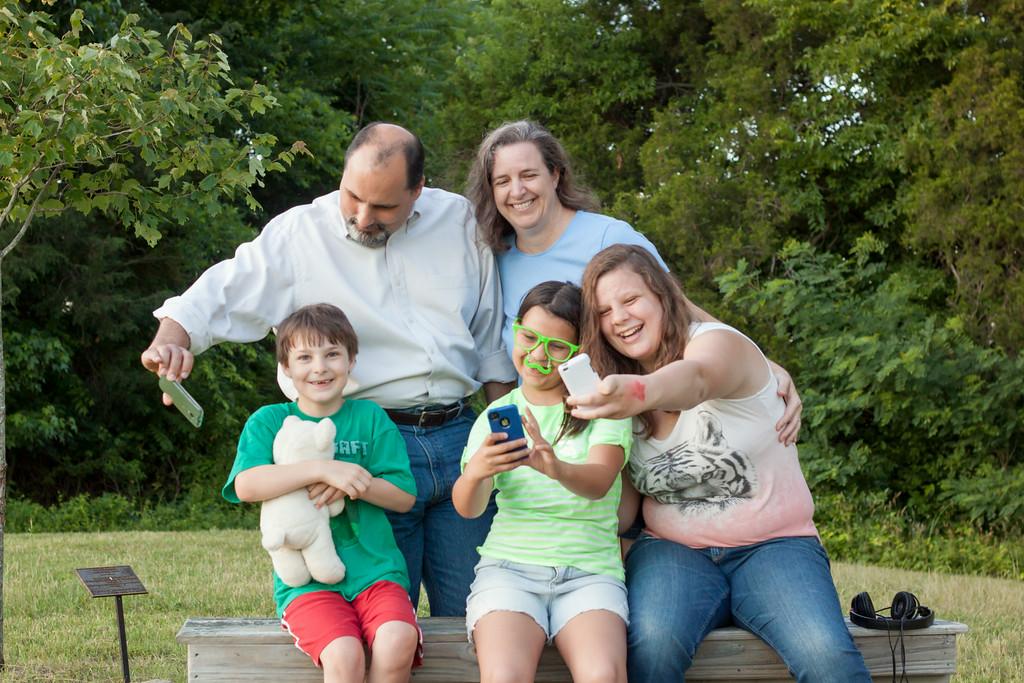 Family of Selfies