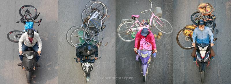 Cõng xe đạp