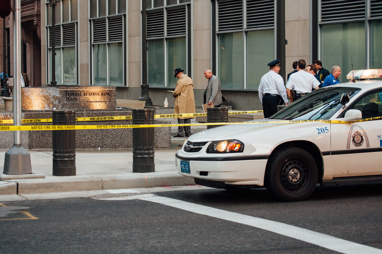 Federal Reserve Shooting